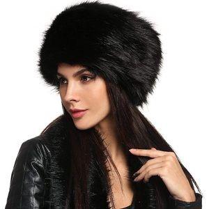 Winter Faux Fur Russian Cossack Style Hat